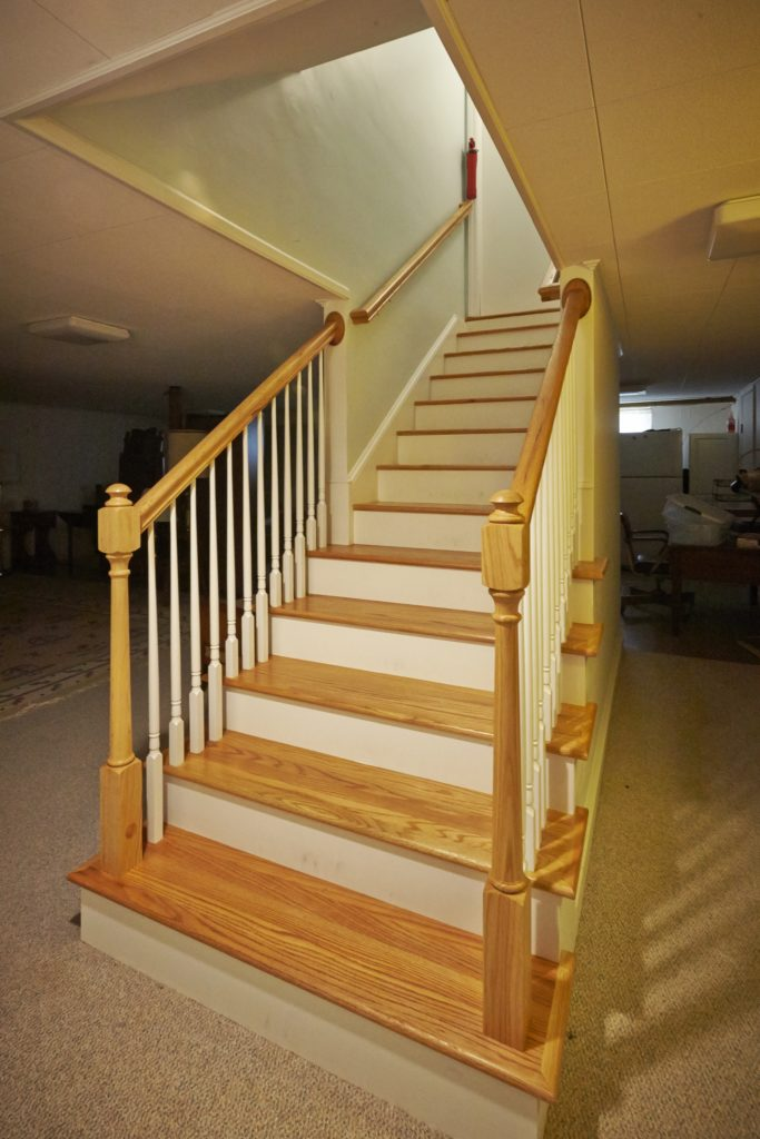 Christiansburg Interior Remodeling with new staircase