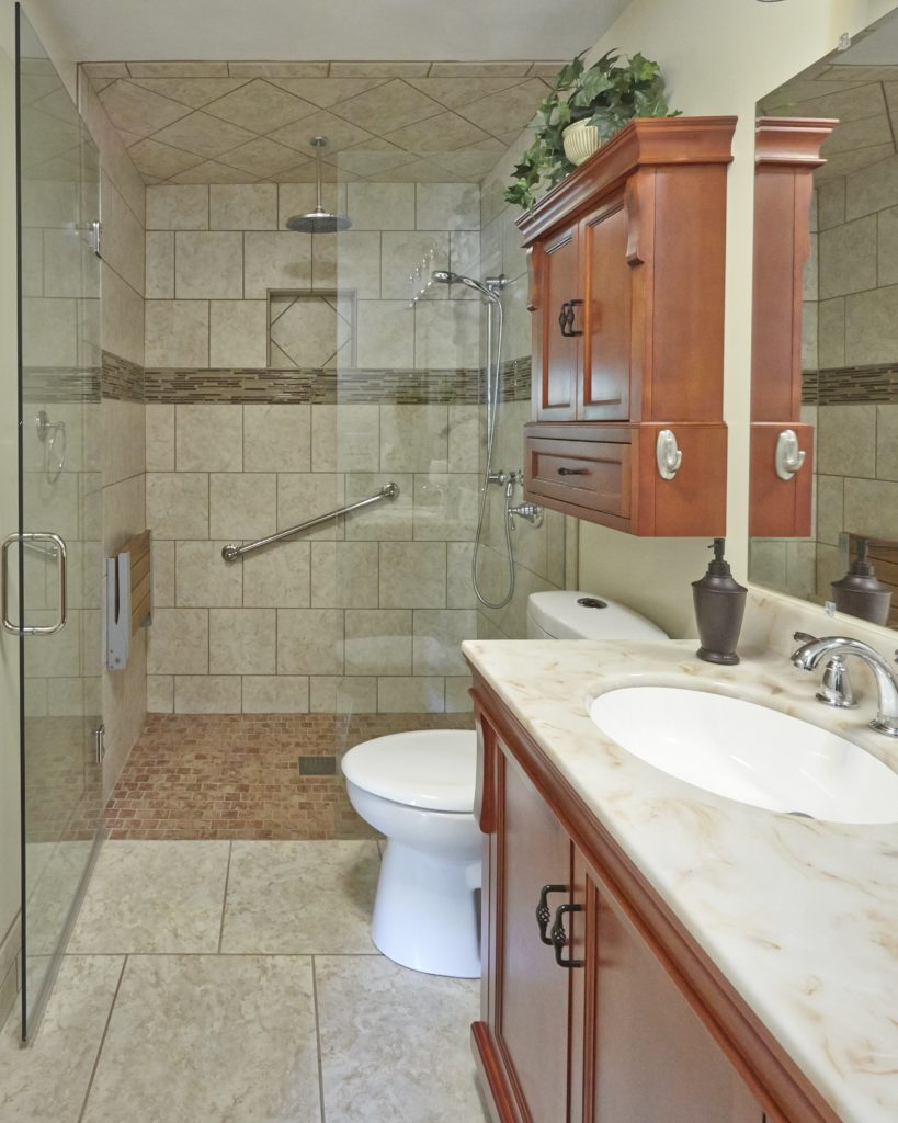 Roanoke New Bathroom Remodeling Contractor with finished job