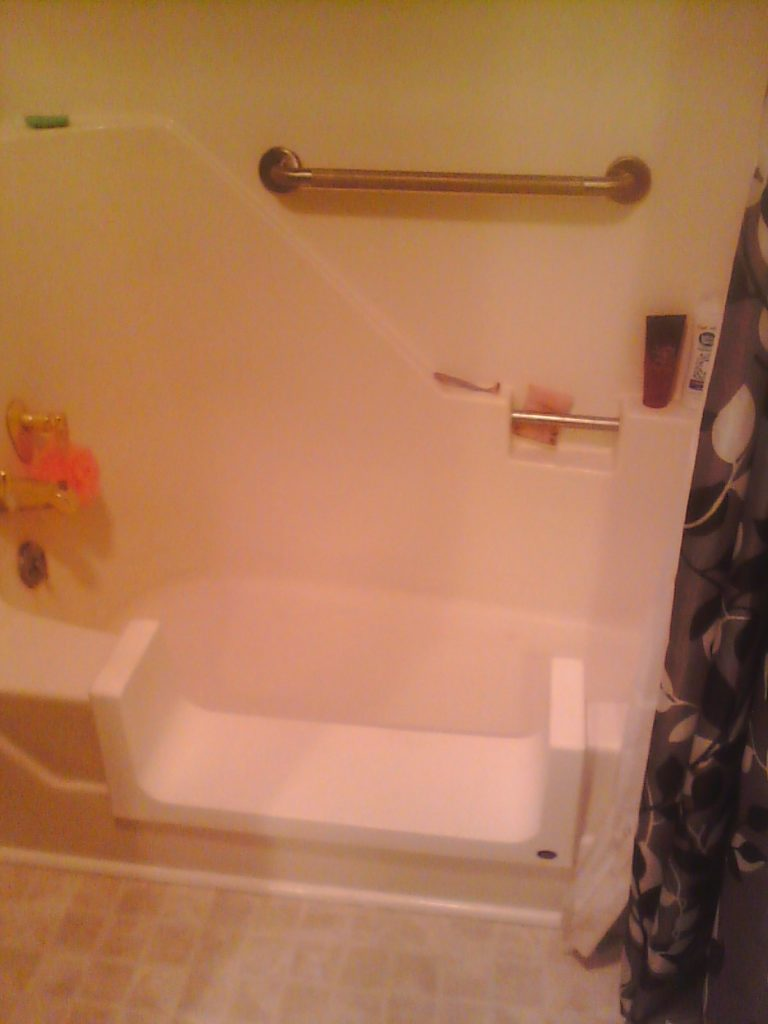 Roanake Bathroom Remodeling Contractor Safeway Step & Grab Bar installation