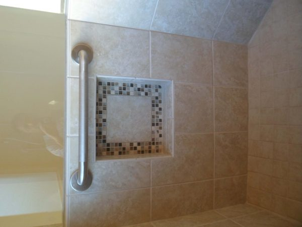 vinton virginia custom tile shower grab bar