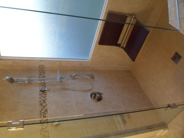 vinton virginia custom tile shower