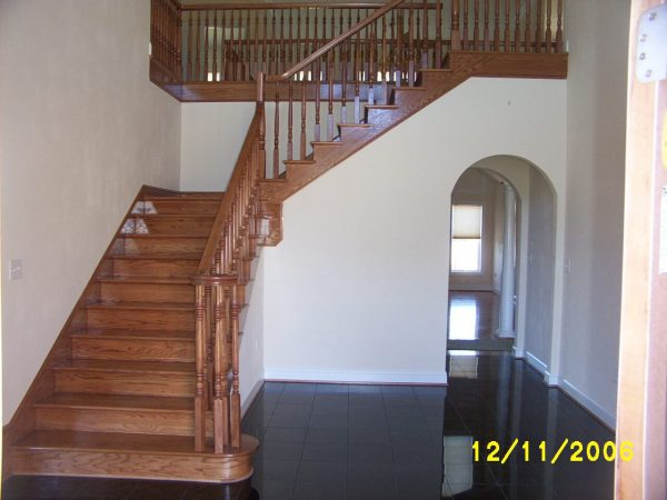 custom curved archway new construction daleville virginia