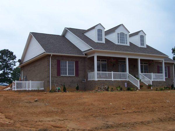 custom brick farmhouse new construction buchanan virginia