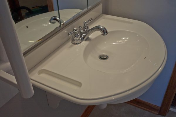 clifton forge virginia aging in place custom bathroom roll under sink wheelchair accessible