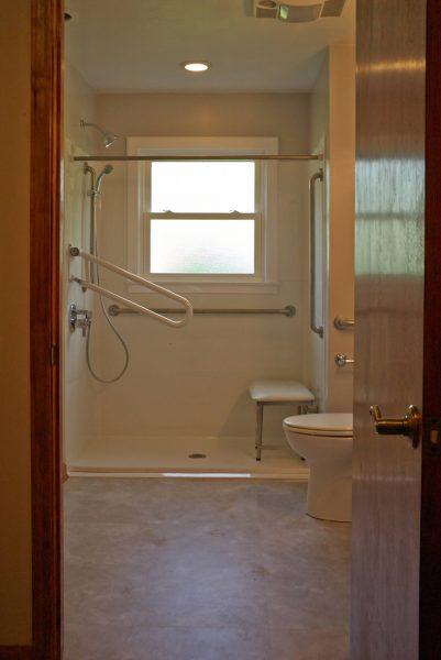clifton forge virginia aging in place custom bathroom