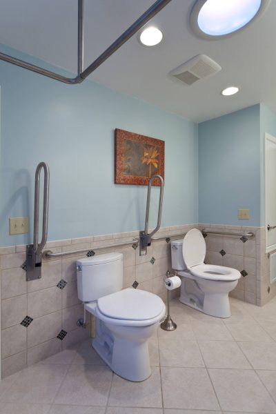 blue ridge virginia aging in place custom bathroom fold down grab bar comfort height commode