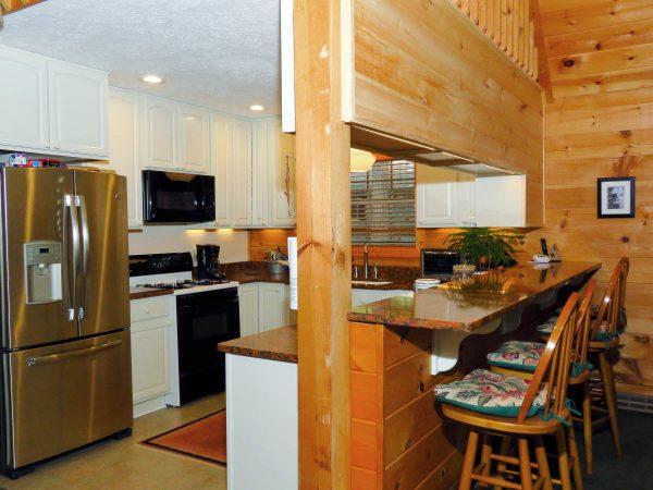 custom kitchen smith mountain lake virginia