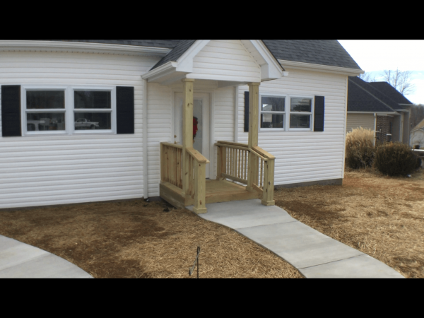 aging in place addition wheelchair accessiblemother-in-law suite christiansburg virginia