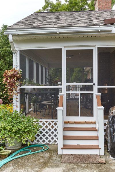 salem virginia screened porch