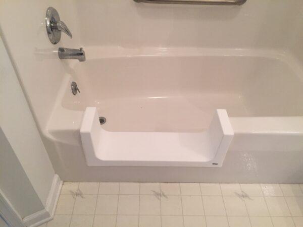 bathtub to step in shower