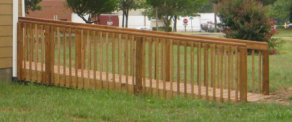 roanoke virginia custom wood ramp