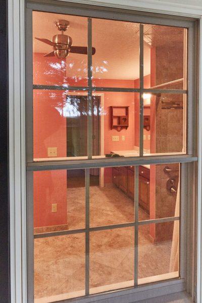 SAH veteran custom tile curbless shower grab bars wheelchair accessible bathroom floyd virginia