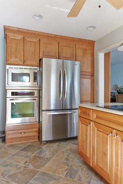 custom kitchen tile backsplash christiansburg virginia wall oven
