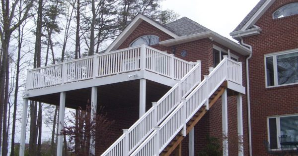 custom deck addition smith mountain lake virginia