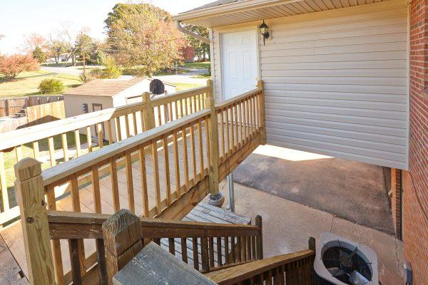 SAH veteran custom deck addition Lynchburg virginia