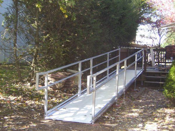 christiansburg virginia custom aluminum wheelchair ramp