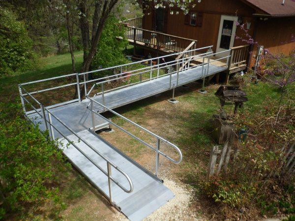 vinton virginia custom aluminum wheelchair ramp