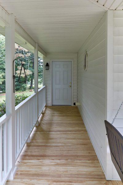 Floyd Virginia custom covered porch