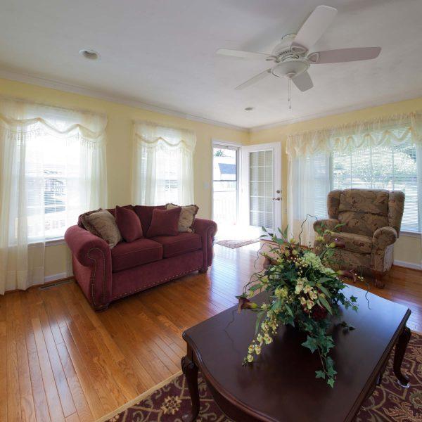 custom living room remodel roanoke virginia