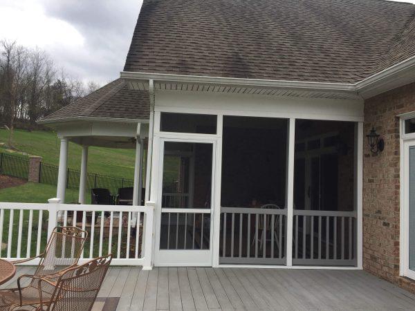 daleville virginia custom screened porch deck