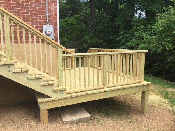 roanoke virginia custom deck
