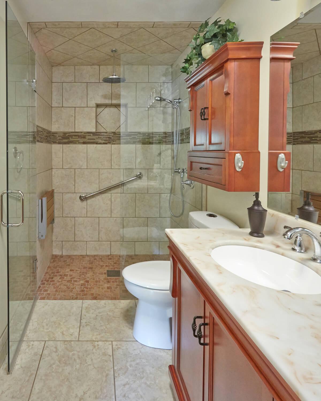 Roanoke Residential Contractors Solid Rock Enterprises - Bathroom remodel roanoke va
